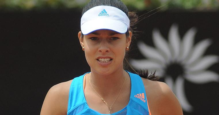 Ana Ivanovic siktar högt