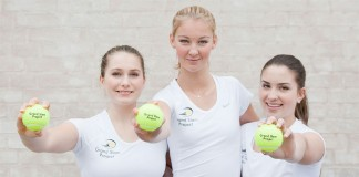 Grand Slam Project: Ida Jarlskog, Julia Rosenqvist och Adna Sofradzija.