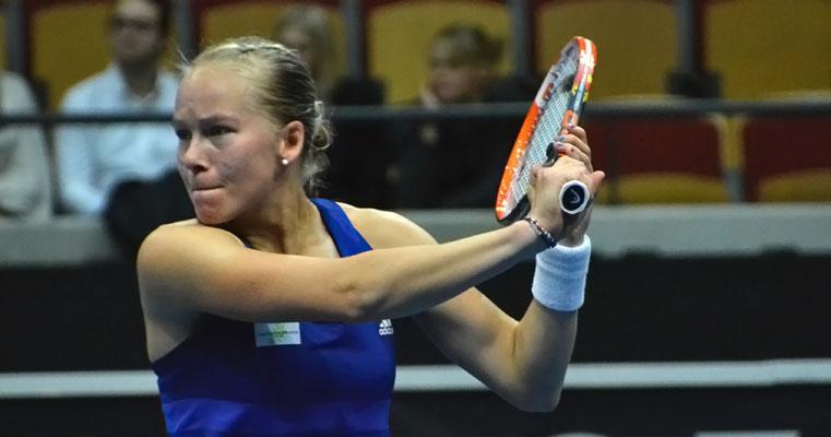 Johanna Larsson klar för kvartsfinal i Acapulco