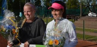 Maja Örnberg och Adna Sofradzija (Foto: Henrik Gustavsson/SweTennis)