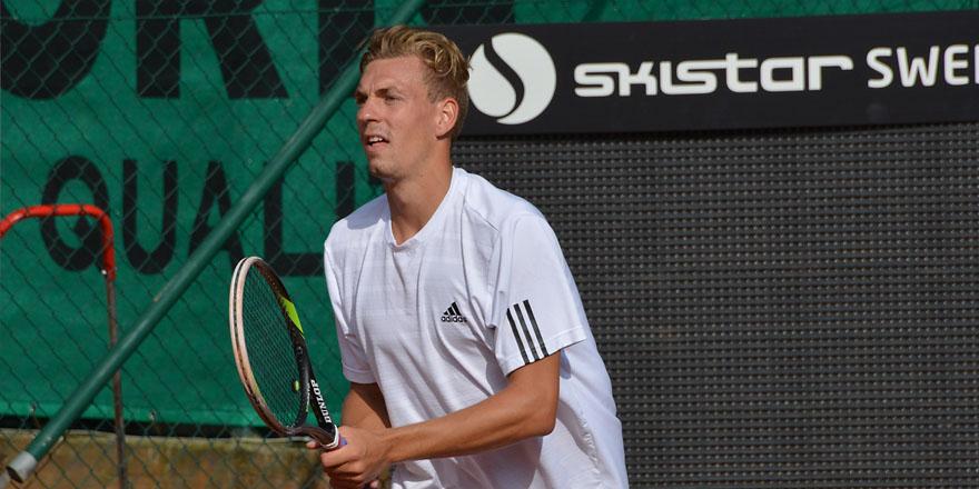Isak Arvidsson (Foto: Henrik Gustavsson/SweTennis)