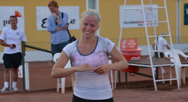 Maja Örnberg (Foto: Henrik Gustavsson/SweTennis)