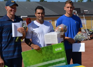 Filip Bergevi, Pablo Figueroa och Dragos Madaras (Foto: Henrik Gustavsson)