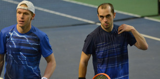 Markus Eriksson och Milos Sekulic (Foto: Henrik Gustavsson/SweTennis)