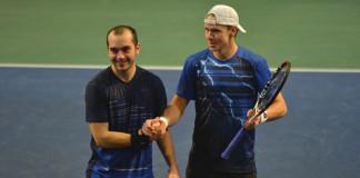 Milos Sekulic och Markus Eriksson (Foto: Henrik Gustavsson/SweTennis)