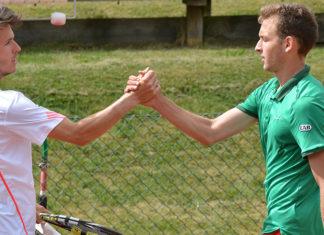 Julien Cagnina och Dragos Madaras (Foto: Henrik Gustavsson/SweTennis)