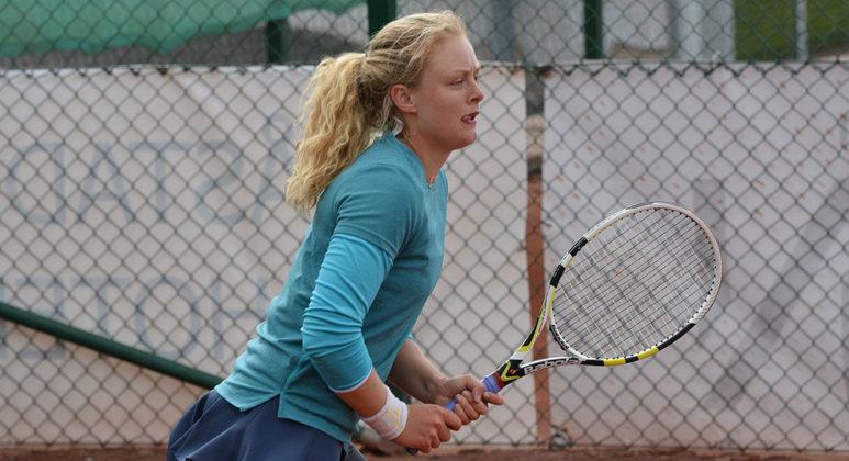 Rebecca Gustafson (Foto: Henrik Gustavsson/SweTennis)