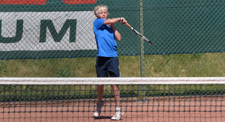 Linus Olausson (Foto: Henrik Gustavsson/SweTennis)