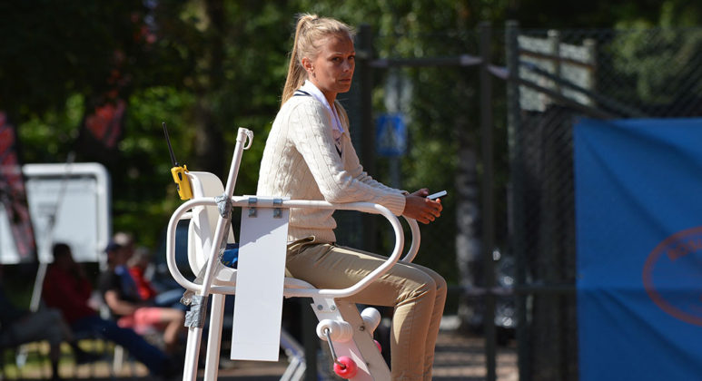 Josefin Dahlbäck (Foto: Henrik Gustavsson/SweTennis)