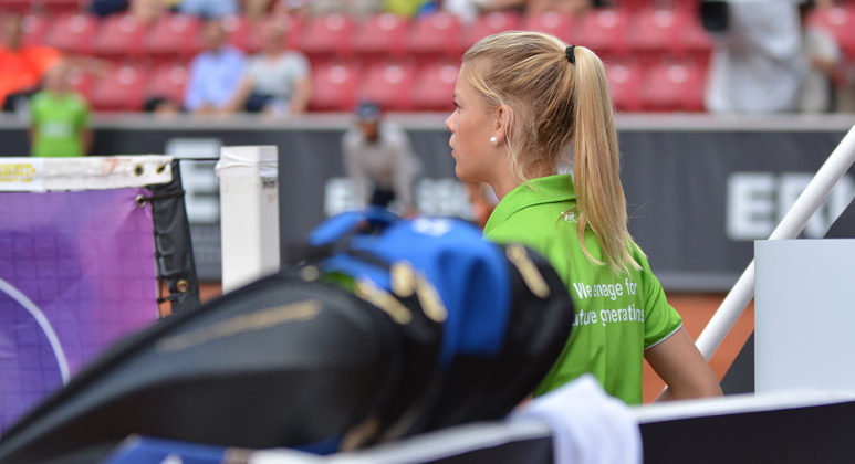 Fokuserad bollkalle (Foto: Henrik Gustavsson/SweTennis)