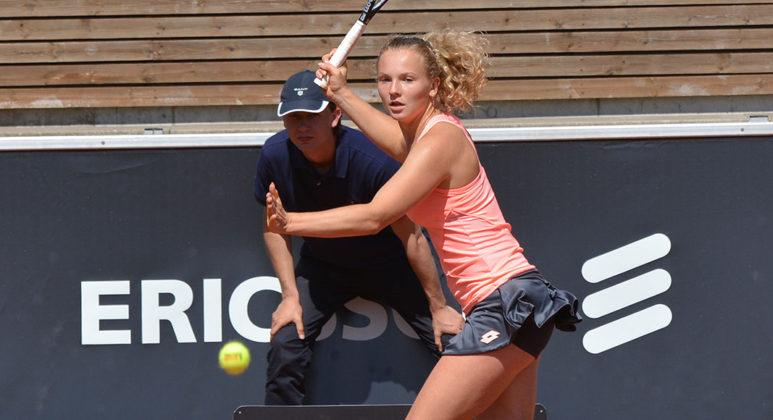 Katerina Siniakova (Foto: Henrik Gustavsson/SweTennis)