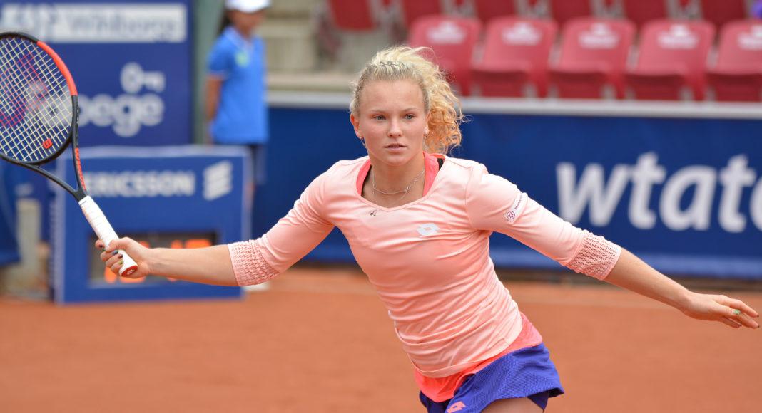 Katerina Siniakova. Foto: Henrik Gustavsson/SweTennis.
