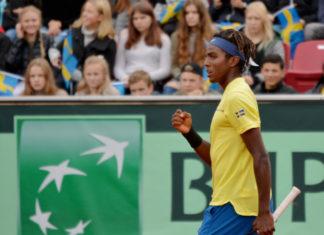 Davis Cup med Elias Ymer (Foto: Henrik Gustavsson/SweTennis)